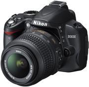 Продам фотоаппарат Nikon D3000 Kit AF-S DX 18 -55 mm f/3.5-5.6G V